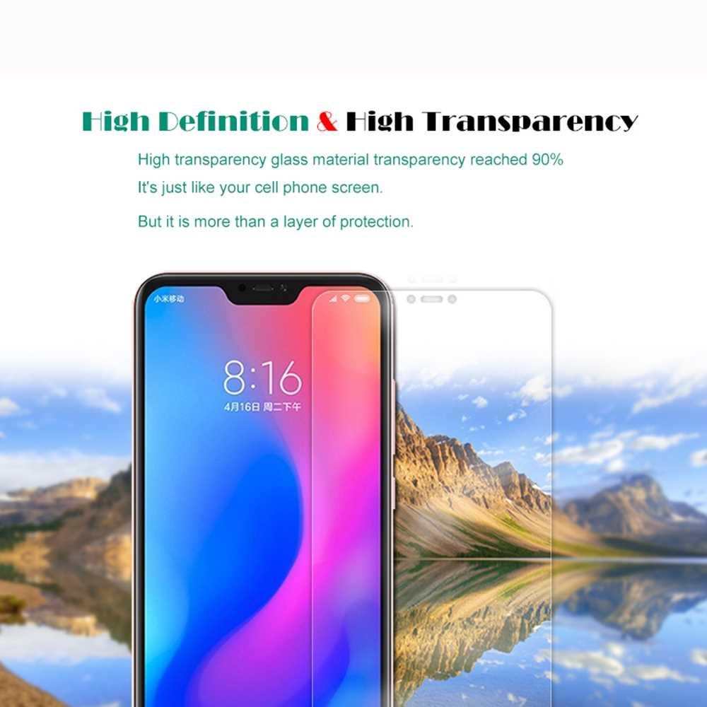 2PCS HD Screen Protector Tempered Glass for Xiaomi Mi A2 Lite / Redmi 6 Pro