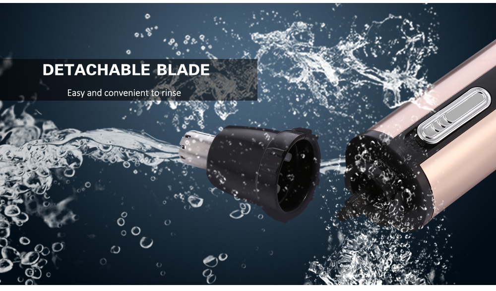 GW - 212 Washable Blade Rechargeable Nose Hair Trimmer