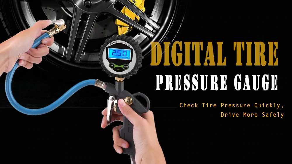 Car Digital Tire Pressure Gauge