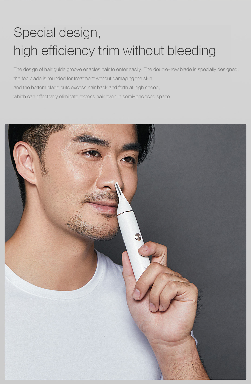 SOOCAS N1 Nose Hair Trimmer from Xiaomi Youpin