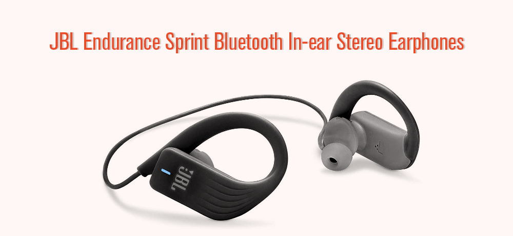 JBL Endurance Sprint Bluetooth In-ear Stereo Earphones IPX7 Waterproof Sports Earbuds with Mic