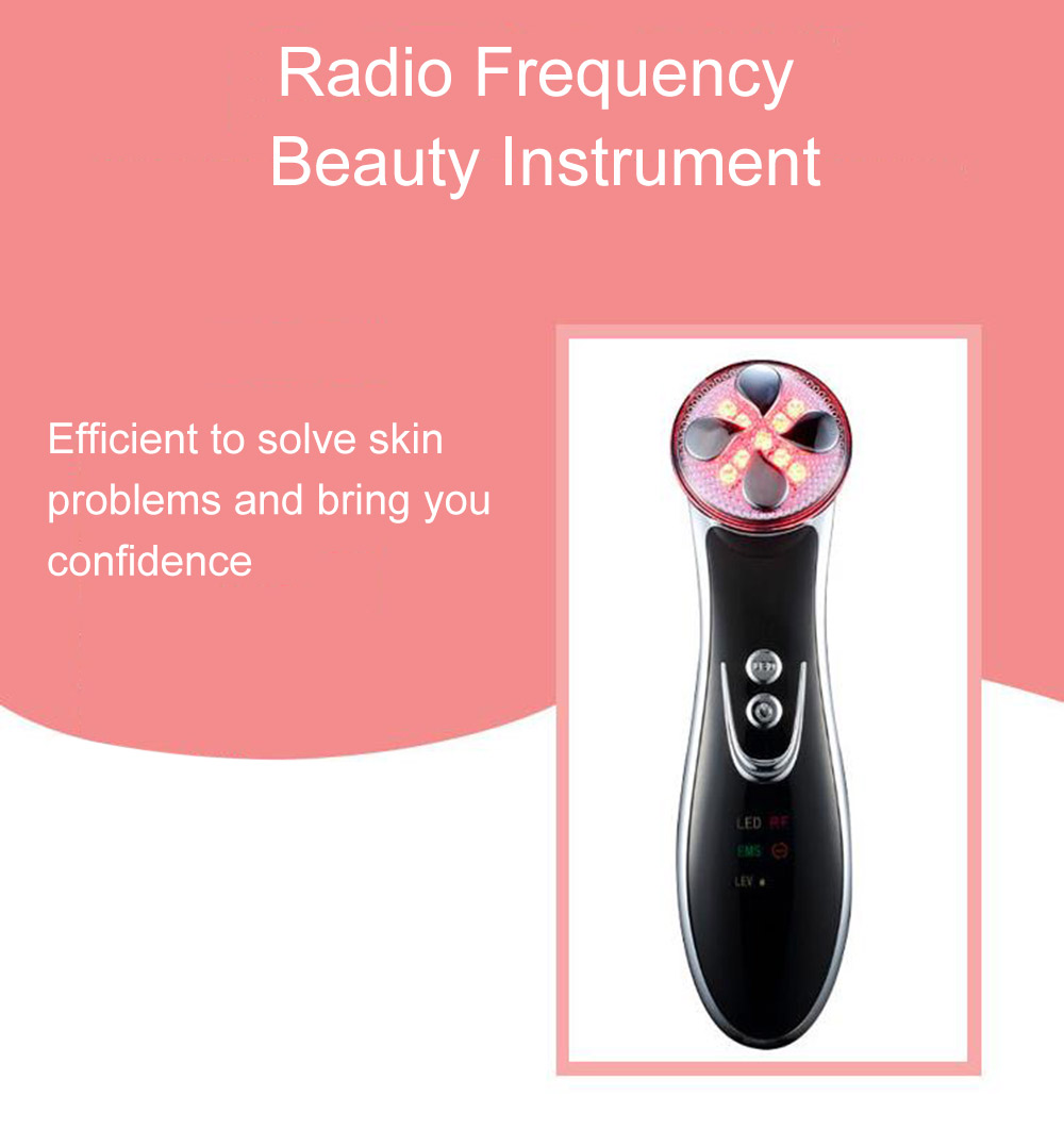 Color Light Home RF Import Machine Electric Wave Pull Leather Electroporation Beauty Instrument
