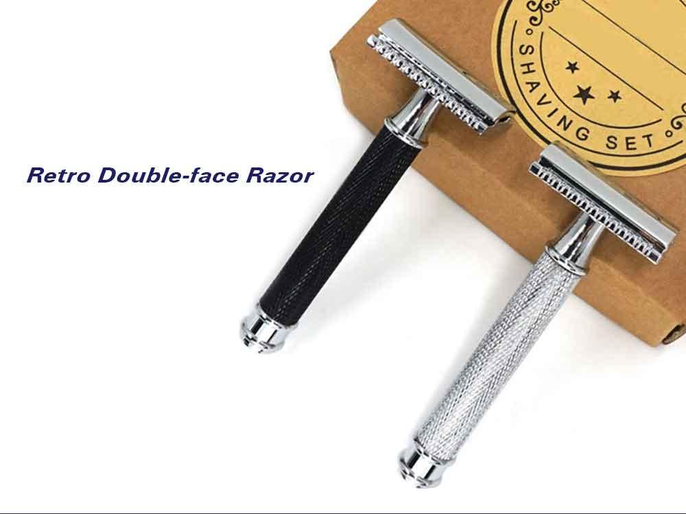 Retro Double-face Razor Set for Men Gift
