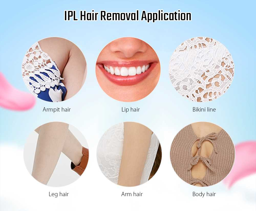 MY - 006 IPL Photon Pulse Hair Removal Electric Lady Epilator