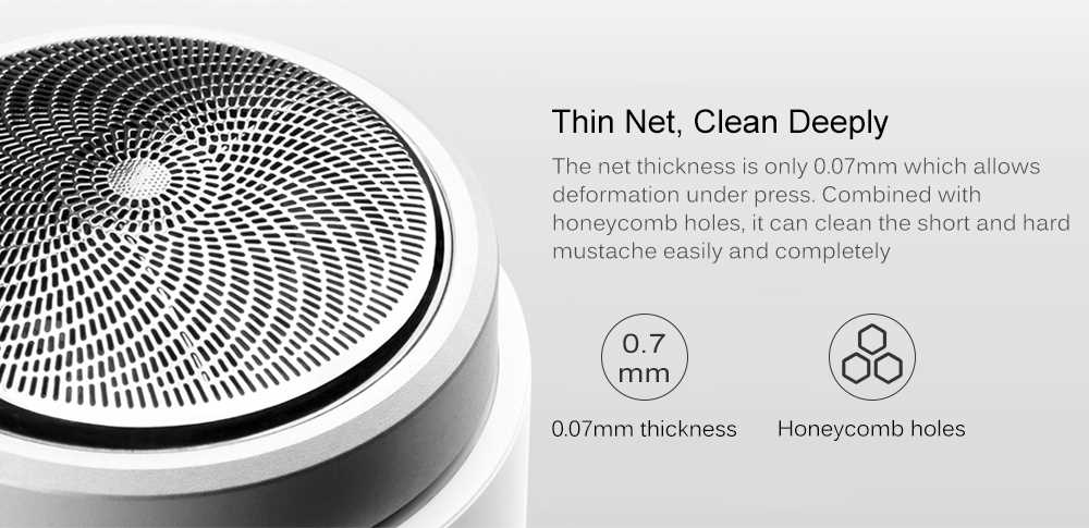SO WHITE ED1 Mini Pocket Deep Clean Long Duration Electric Shaver from Xiaomi youpin