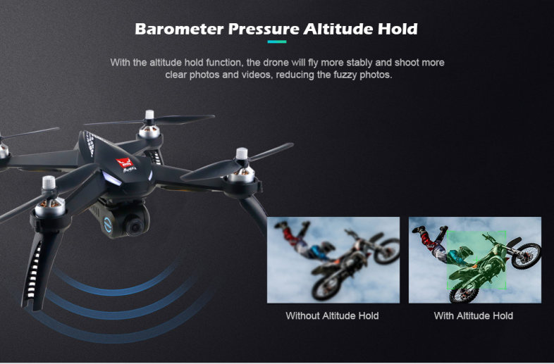 MJX Bugs 5W B5W WiFi FPV 1080P Camera / Waypoints / Point of