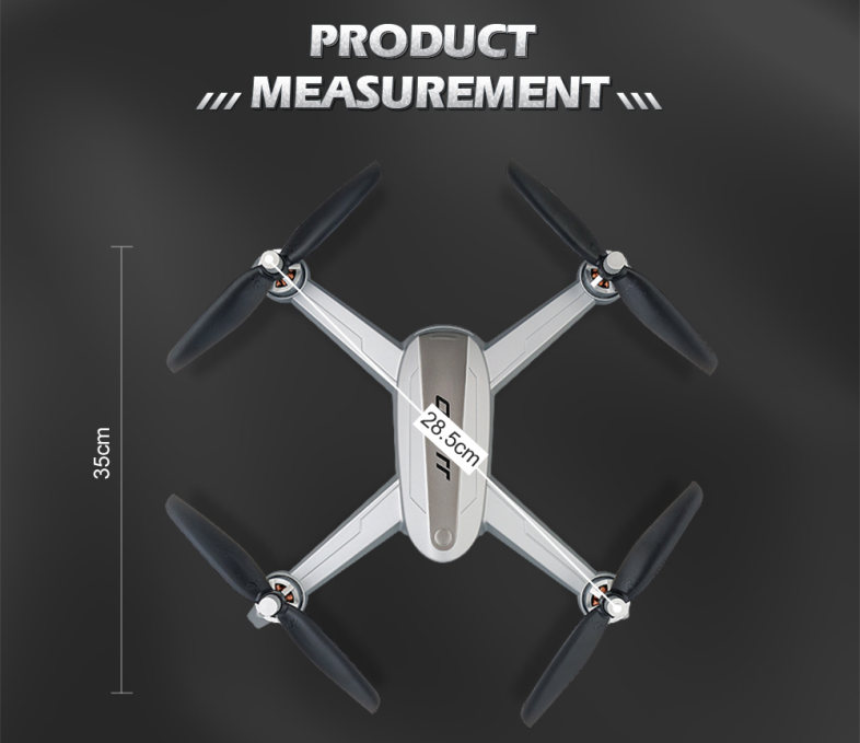 JJRC JJPRO X5 5G WiFi FPV RC Drone GPS Positioning Altitude Hold 1080P Camera Point of Interesting Follow Brushless Motor