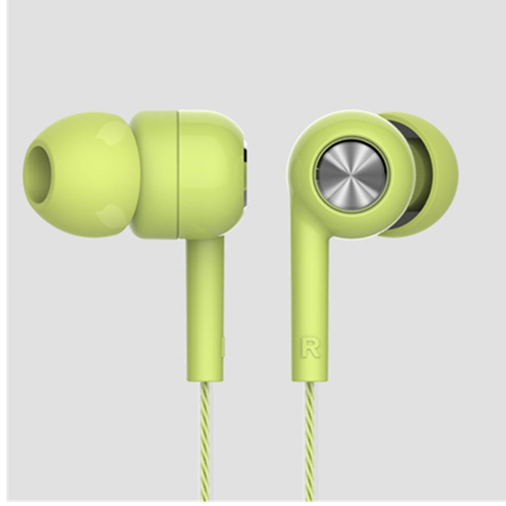 Piston In Ear Earphone Fresh Version Stereo With Mic Headset for Xiaomi