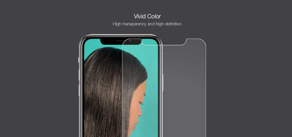 0.2mm 9H Hardness Explosion-proof Anti-scratch Tempered Glass Screen Protector for iPhone X