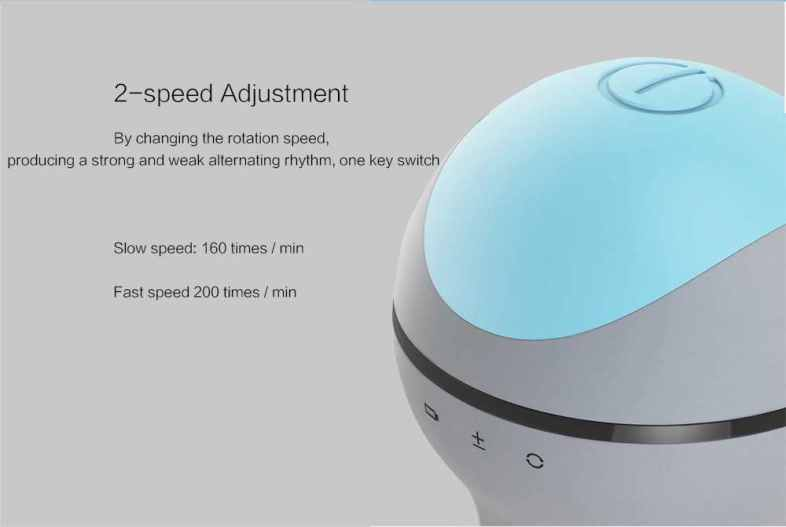 Xiaomi Mijia Two-way Encircling Power Head Massager