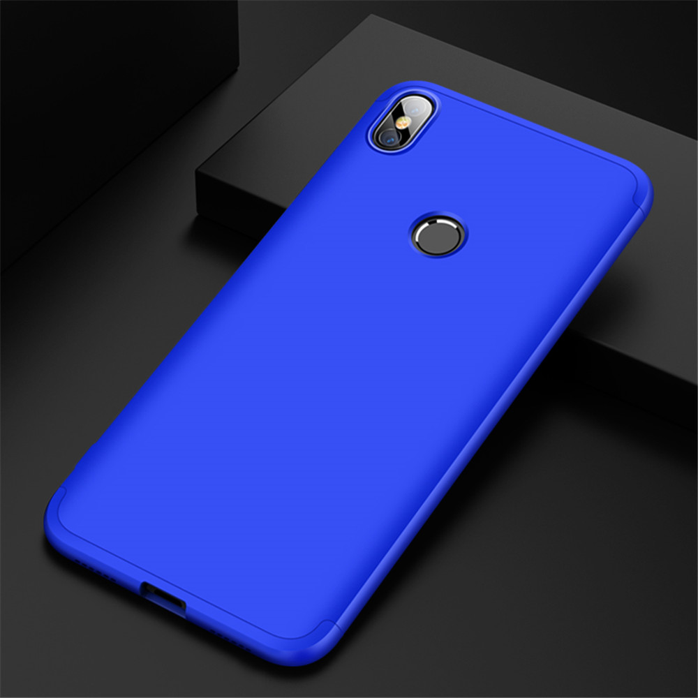 Case for Redmi S2 Shockproof Ultra-thin Full Body Cover Solid Hard PC