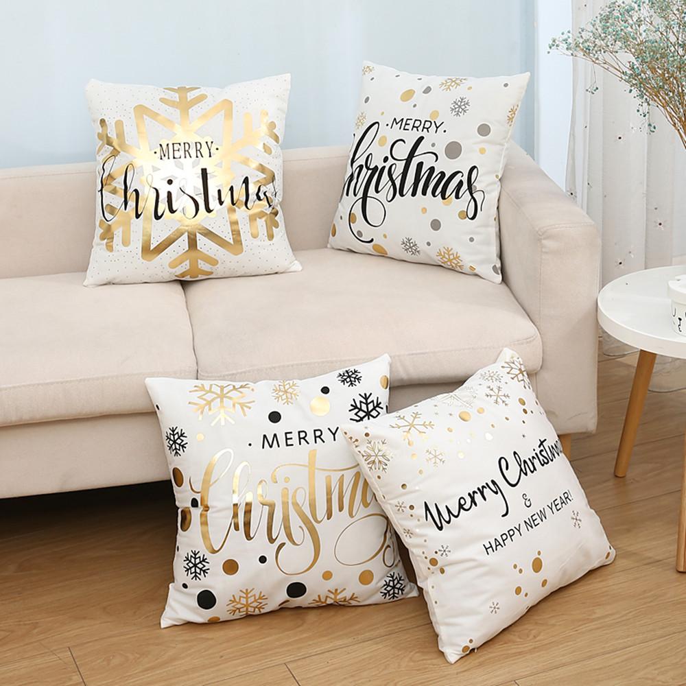 Christmas Hot Stamping And Pillowcase