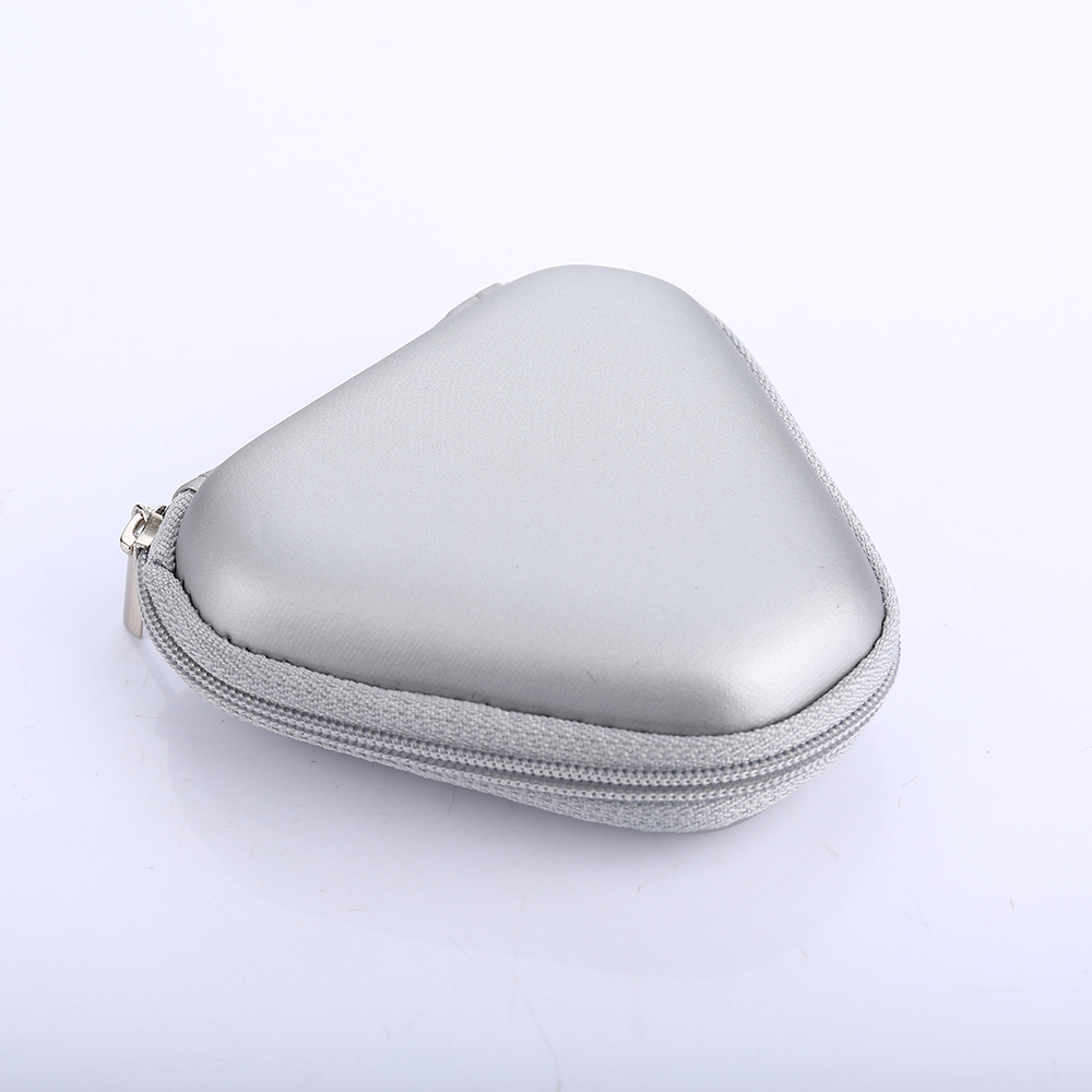 Tosangn Mini Zipper Earphone Headphone SD Card Storage Bag Box Carrying Pouch