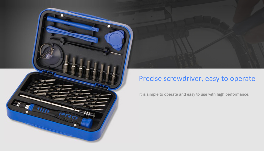 Multifunctional S2 Screwdriver Household Hardware Tool Set
