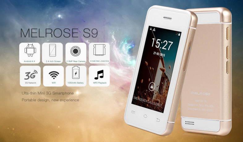 MELROSE S9 2 4 INCH ANDRORID 4 4 ULTA-SLIM MINI 3G SMART