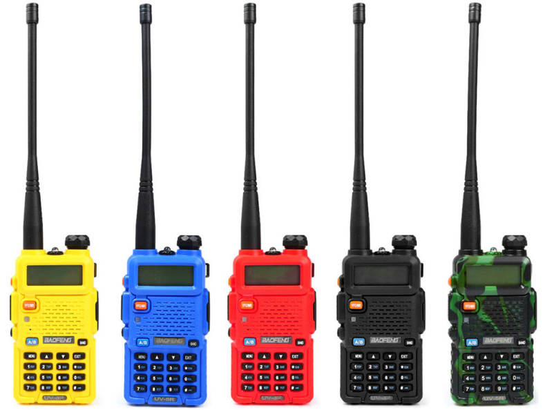 BAOFENG UV-5R VHF / UHF Walkie Talkie 128 Channel with LED Light