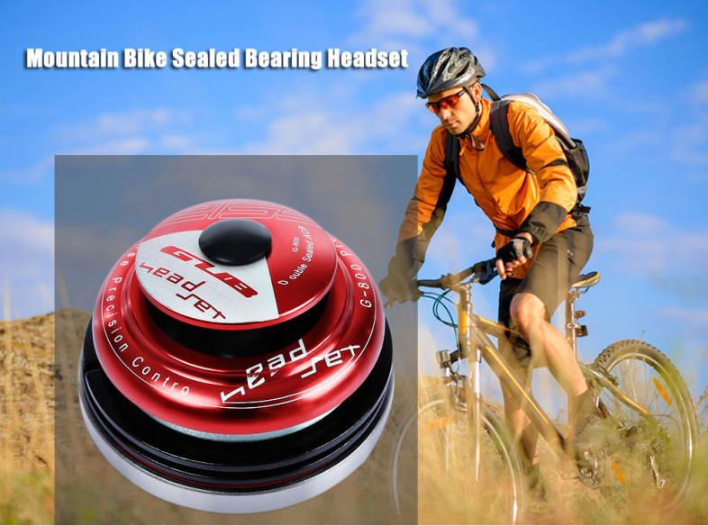 GUB G - 800 Mountain Bike Sealed Bearing Headset Cycling Wrist Tapered Bowl