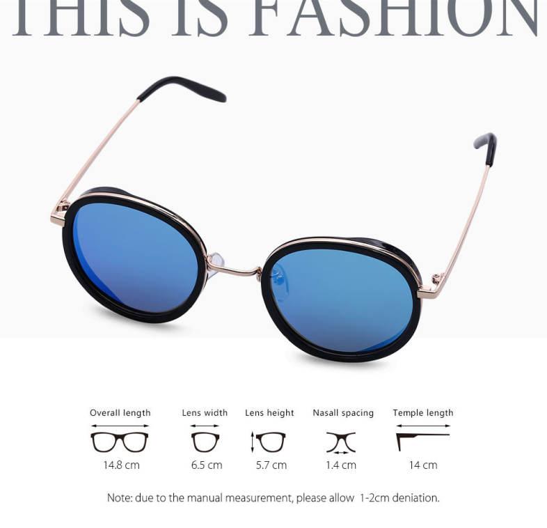 1871d8eba9929 S.K.T Women Polarized Sunglasses Metal Frame Steampunk Glasses