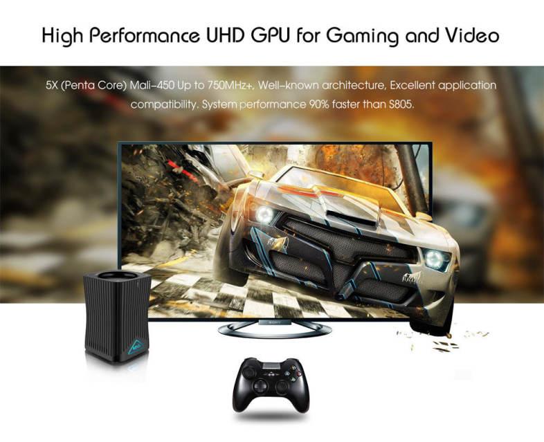 MXQ HF10 Amlogic S905X Quad-core Digital TV Box