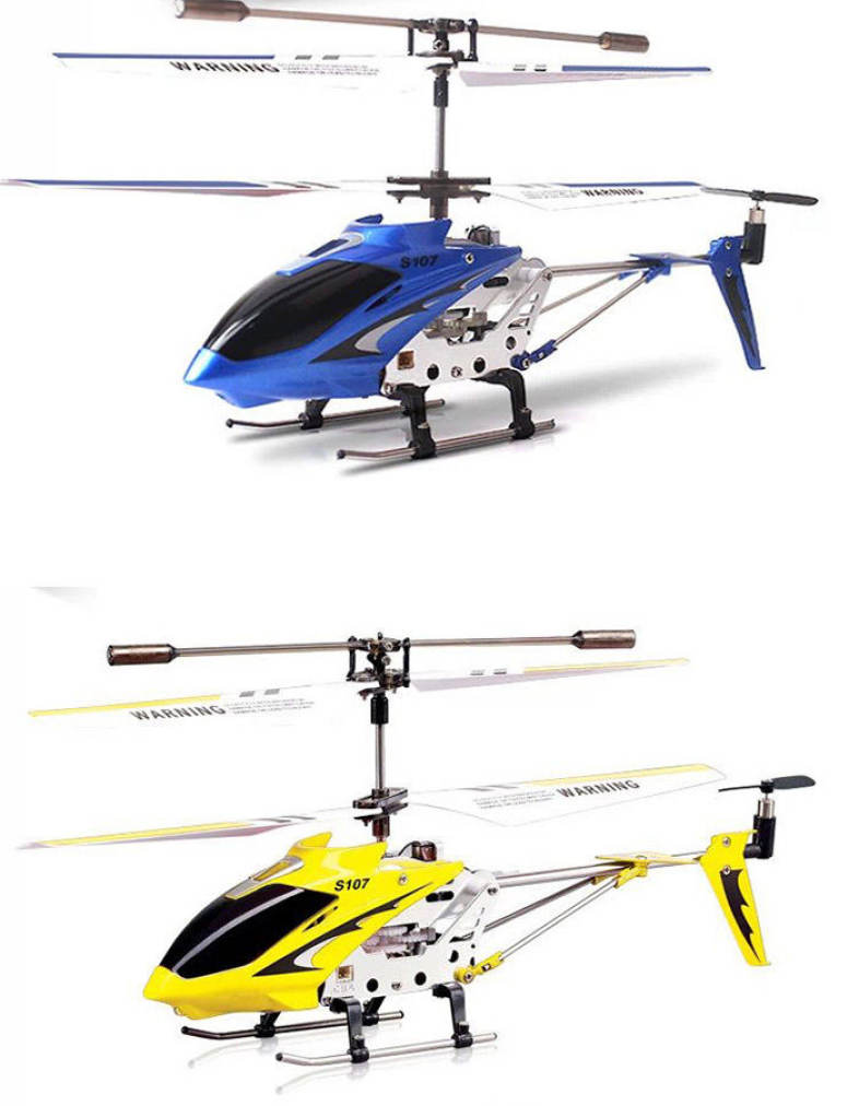 SYMA S107G 3CH REMOTE CONTROL HELICOPTER ALLOY COPTER WITH