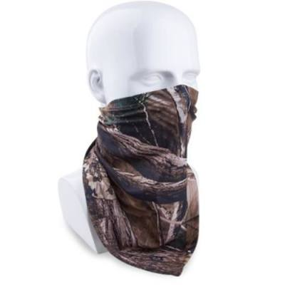 JUNGLEMAN H125 EXT - 1 BIONIC CAMO TRIANGULAR SCARF SINGLE SIDE MASK FOR HUNTING FISHING CYCLING SKI (EXT-1 CAMOUFLAGE)