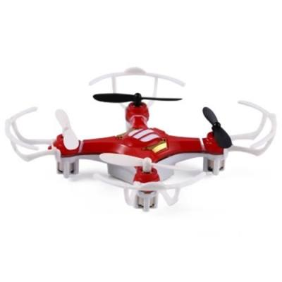 FLYER 668 - A4 6 AXIS GYRO 2.4GHZ 4 CHANNEL TINY QUADCOPTER (RED)