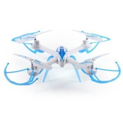 TARANTULA SPIDER NO. 1505C 2.4GHZ 4CH 6 AXIS GYRO 92W CAMERA 3D FLIP RC QUADCOPTER (BLUE AND WHITE)