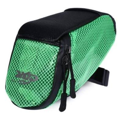 PVC OUTDOOR PORTABLE ANTISKID REAR TAILLIGHTS BAG PACKAGE FOR BICYCLE (GREEN)
