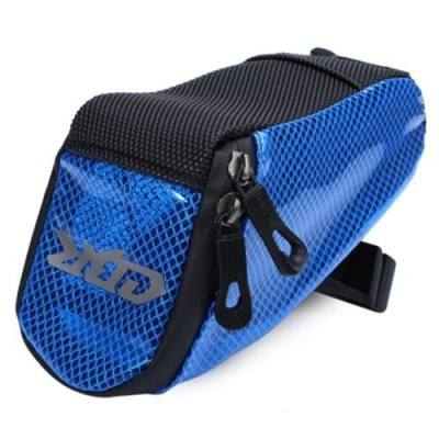 PVC OUTDOOR PORTABLE ANTISKID REAR TAILLIGHTS BAG PACKAGE FOR BICYCLE (BLUE)