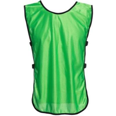 BREATHABLE PURE COLOR UNISEX TRAINING FOOTBALL VEST SHIRT (GREEN)
