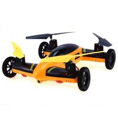 FENG NIU FN668 2.4G 8CH 6-AXIS GYRO RC QUADCOPTER LAND SKY 2 IN 1 MODEL (ORANGE)