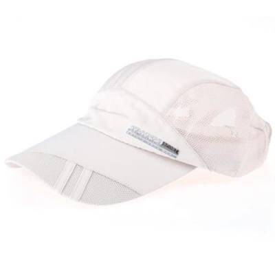 UNISEX OUTDOOR SPORT MESH QUICK-DRYING BASEBALL GOLF TENNIS HAT CAP (OFF-WHITE)