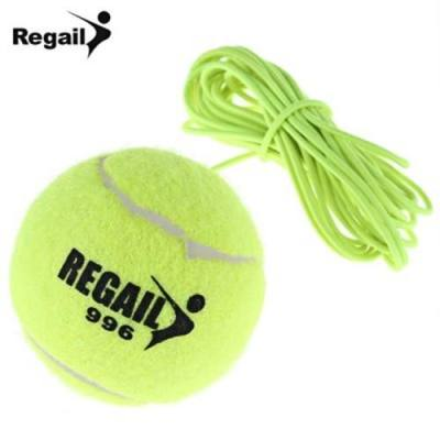 REGAIL DRILL TENNIS TRAINER TENNIS BALL WITH STRING REPLACEMENT (NEON GREEN)