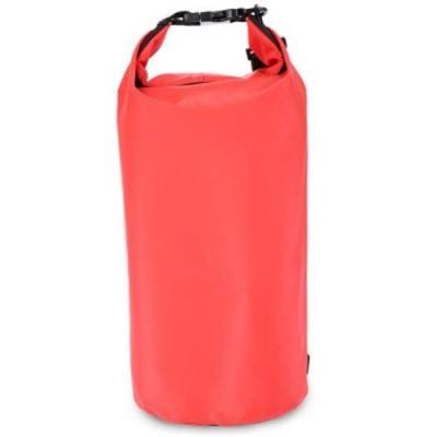 10L WATERPROOF DRY TUBE PCV BAG FOR OUTDOOR ACTIVITIES (RED)