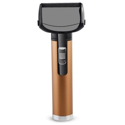 Four-in-one Nose Hair Trimmer Eyebrow Shaving Electric Clipper  (COPPER)