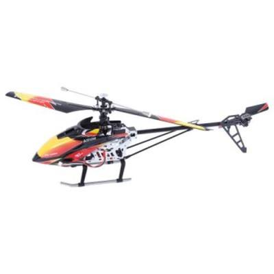 WLTOYS V913 SINGLE PROPELLER 2.4G 4CH MEMS GYRO RC HELICOPTER WITH LCD TRANSMITTER (RED)
