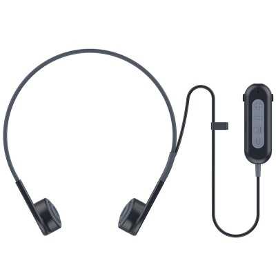 Vidonn Q2 Wireless Bluetooth Bone Conductor Earphones  (DARK GRAY)