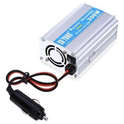 200W DC 12V TO AC 220V CAR POWER INVERTER WITH USB CHARGING PORT