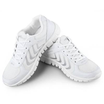 FEMALE BREATHABLE HONEYCOMB MESH SPORTS SHOES SNEAKERS FOR OUTDOOR RUNNING CLIMBING (WHITE)
