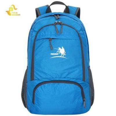FREE KNIGHT FK0716 35L NYLON FOLDING ULTRA LIGHT WATER RESISTANT BACKPACK SCHOOL BAG FOR CAMPING HIKING (BLUE)