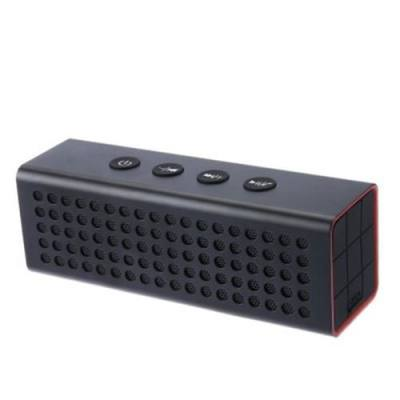 AJ91 HIGH POWER OUTPUT WIRELESS STEREO BLUETOOTH SPEAKER WITH 4400MAH POWER BANK FUNCTION (BLACK)