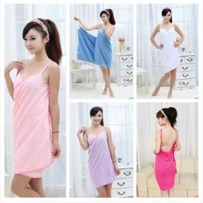 MULTIFUNCTIONAL MICROFIBER SLING TOWEL DRESS JB0017 (PINK)