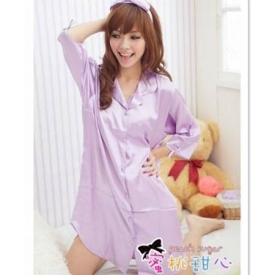 ICE SILK SLEEPWEAR JL0066 (PURPLE, SIZE XL)