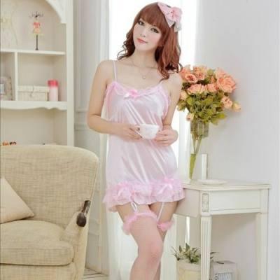 SEXY MAID BABYDOLL / SEXY DRESS QZ-9162