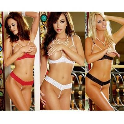 FREE SIZE HOT & SEXY LINGERIE / SEXY BIKINI JL0175 (RED)