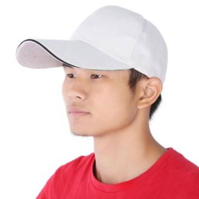 OUTDOOR SPORTS UNISEX QUICK DRYING BASEBALL HAT CAP (OFF-WHITE)