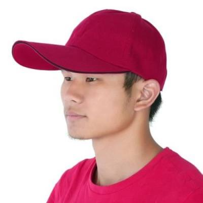 OUTDOOR SPORTS UNISEX QUICK DRYING BASEBALL HAT CAP (RED)
