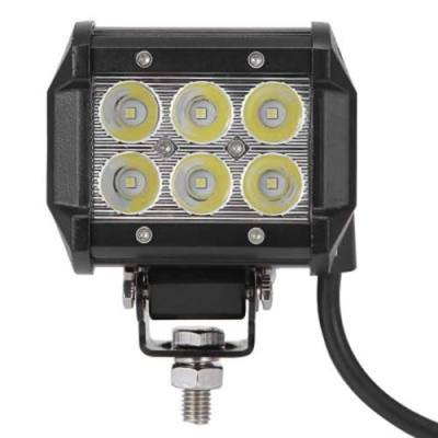 DC 9 - 30V 18W 1800LM 6500K LED CAR TOP WORK FLOODLIGHT LAMP