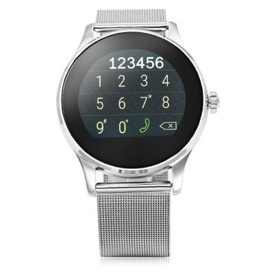 K88H BLUETOOTH 4.0 SMART WATCH (SILVER)