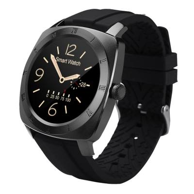 DM88 BLUETOOTH 3.0 / 4.0 SMART WATCH (BLACK)